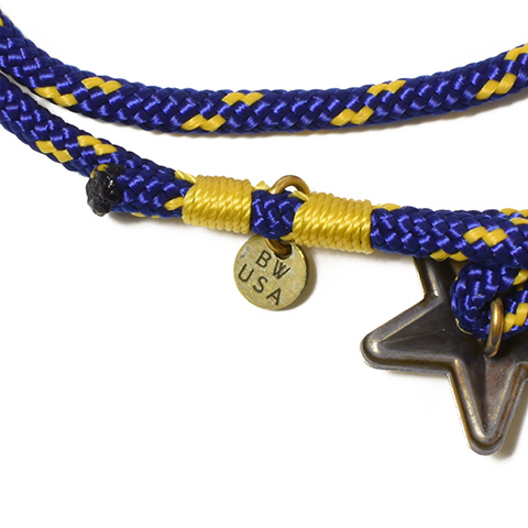Button Works USA Star Concho Anklet