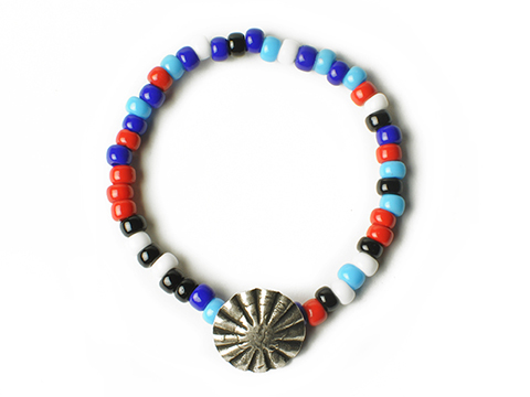 Button Works Beads Bracelet Concho Type 3