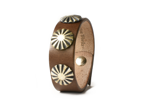 Button Works Ribbon 3 Concho Bracelet Type3