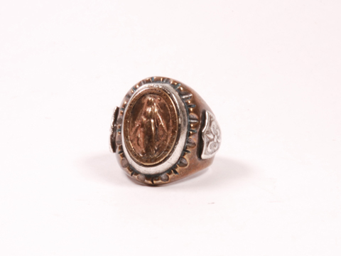 HTC MEXICAN RING MARIA BRONZE