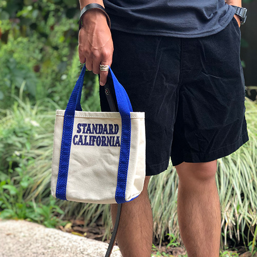 SD Made in USA Stroll Canvas Tote Bag Standard California Limited