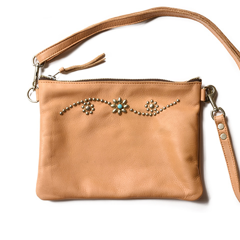 HTC Clutch Bag with Adjust Strap Medium #25 Turquoise
