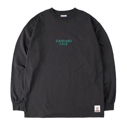 SD Heavyweight Logo Long Sleeve T