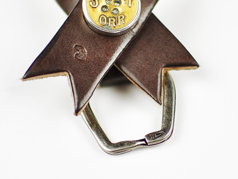 Button Works × Larry Smith Ver. 6 Ribbon Key Holder