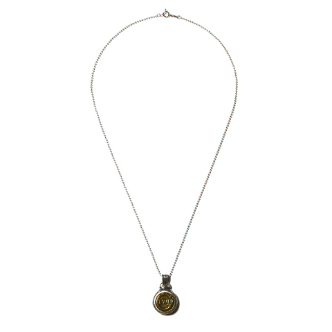 Button Works × Larry Smith Work Button Necklace No.14