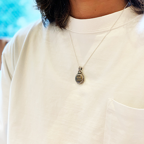 Button Works × Larry Smith Work Button Necklace No.15
