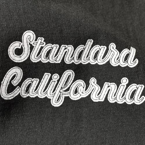 SD US Cotton Zip Hood Script Logo Sweat Shirt