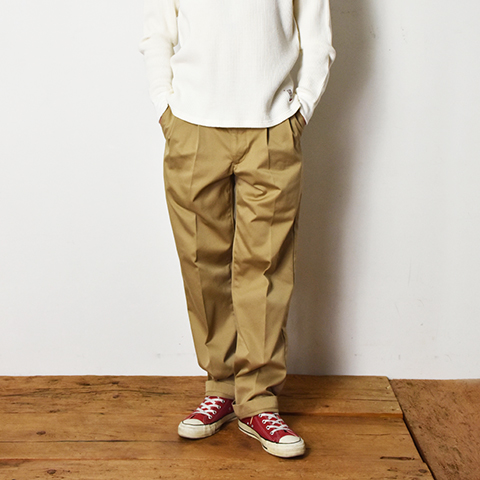 SD Pleated Chino Pants