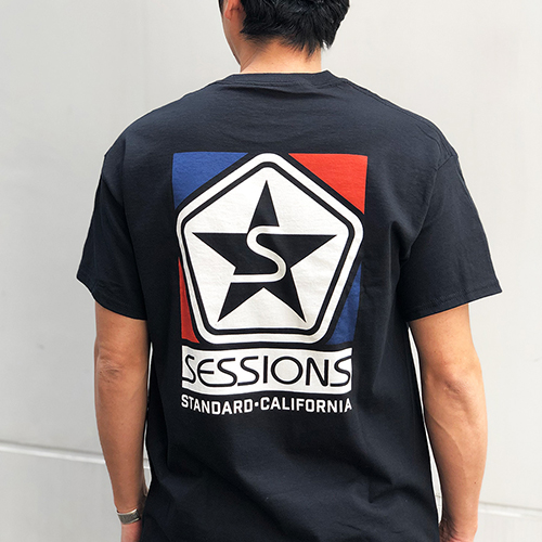 SESSIONS × SD Logo T