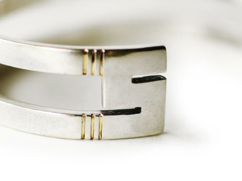 SD Two Lines Bangle