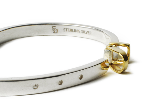 SD Buckle Design Bracelet