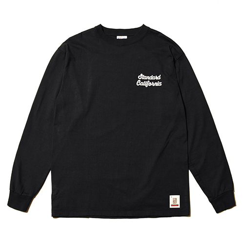 SD Heavyweight Script Logo Long Sleeve T Official Store Limited