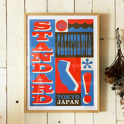 Jeff for SD Standard California Poster