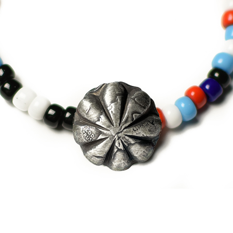 Button Works Beads Bracelet Concho