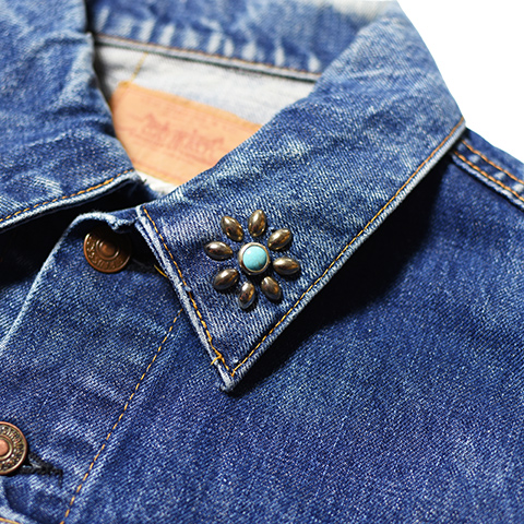 HTC 20th LEVI'S 70505 with Flower Turquoise Serial No. 19/20