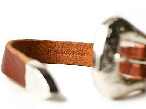 Button Works Western Buckle Bracelet