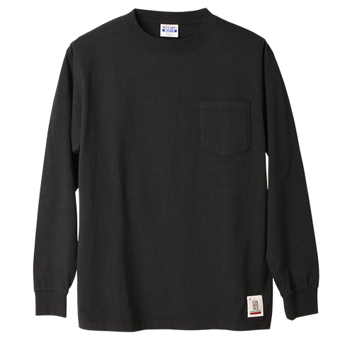 SD Heavyweight Pocket Long Sleeve T