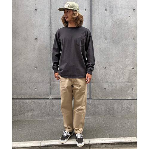 SD Heavyweight Pocket Long Sleeve T