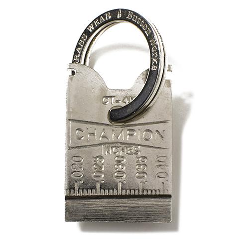 Button Works Dead Stock Champion Plug Gap Gauge Key Fob
