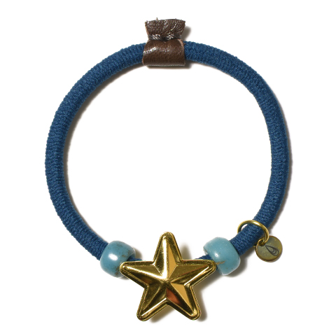 Button Works USA Star Concho Gum/Gold