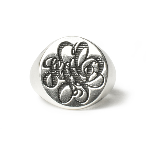 SD Made in USA Signet Ring