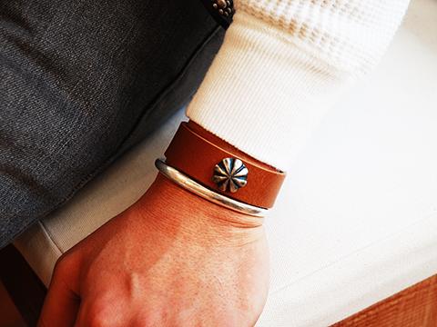 Button Works Ribbon Concho Bracelet