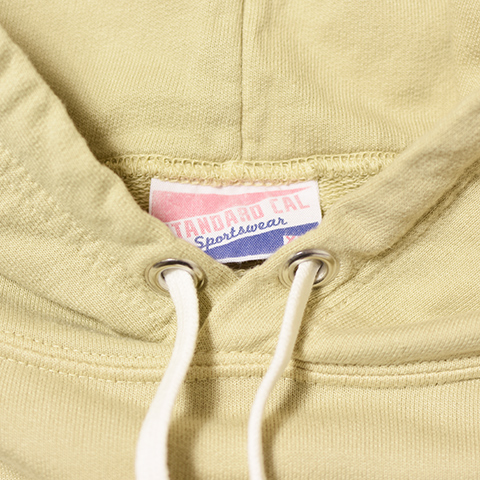 SD Pima Cotton Pullover Hood Sweat