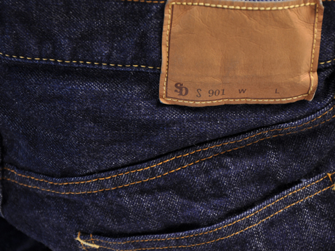 SD Denim Pants S-Type Lady's One Wash