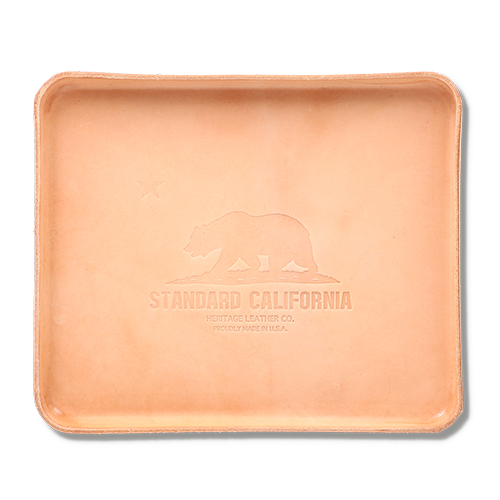 HERITAGE LEATHER × SD Leather Tray Medium