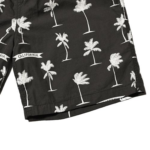 SD Palm Tree Shorts Fabric Designed by Jeff Canham