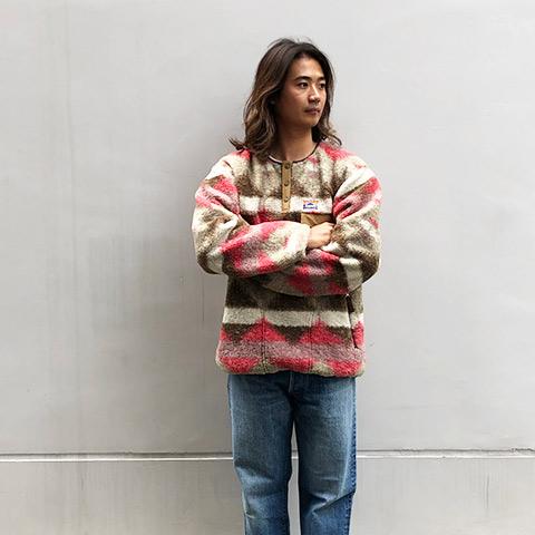 SD Pullover Fleece Jacket