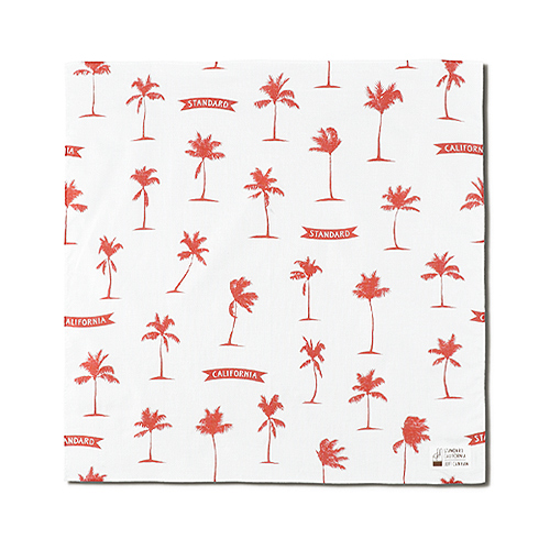 SD Palm Tree Bandana Fabric Designed by Jeff Canham