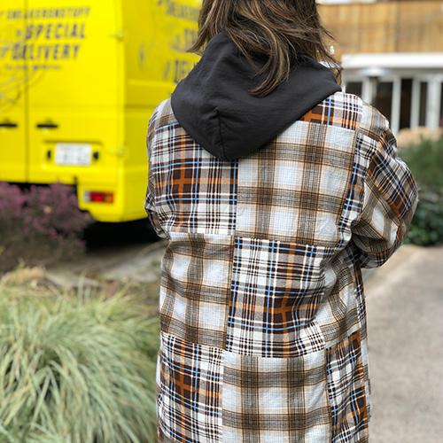 HAND LIGHT × Standard California Remake Patchwork Jacket