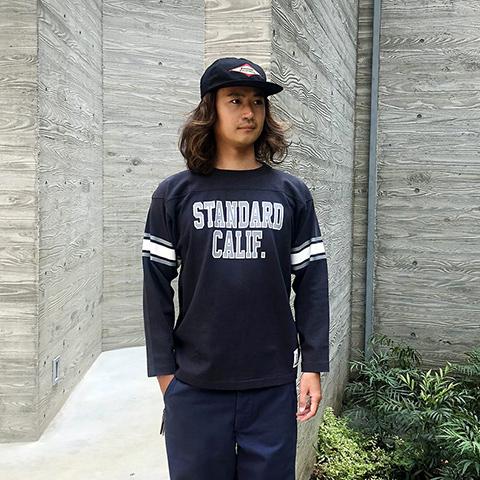SD Heavyweight Football Long Sleeve T