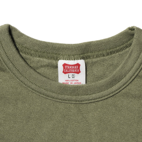SD Two-Layer Small Logo Long Sleeve T