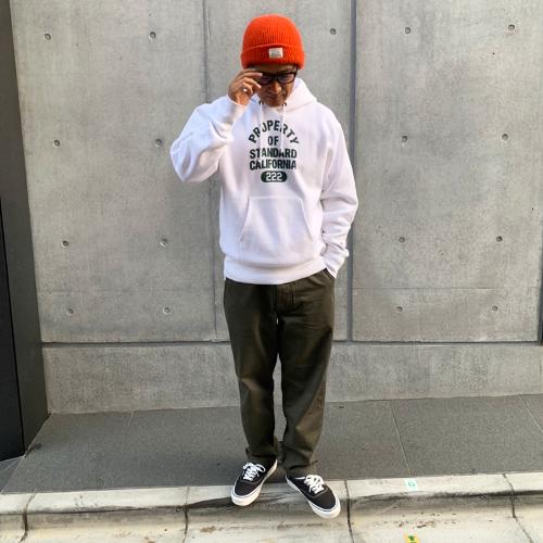 Champion × SD Reverse Weave Hood Sweat