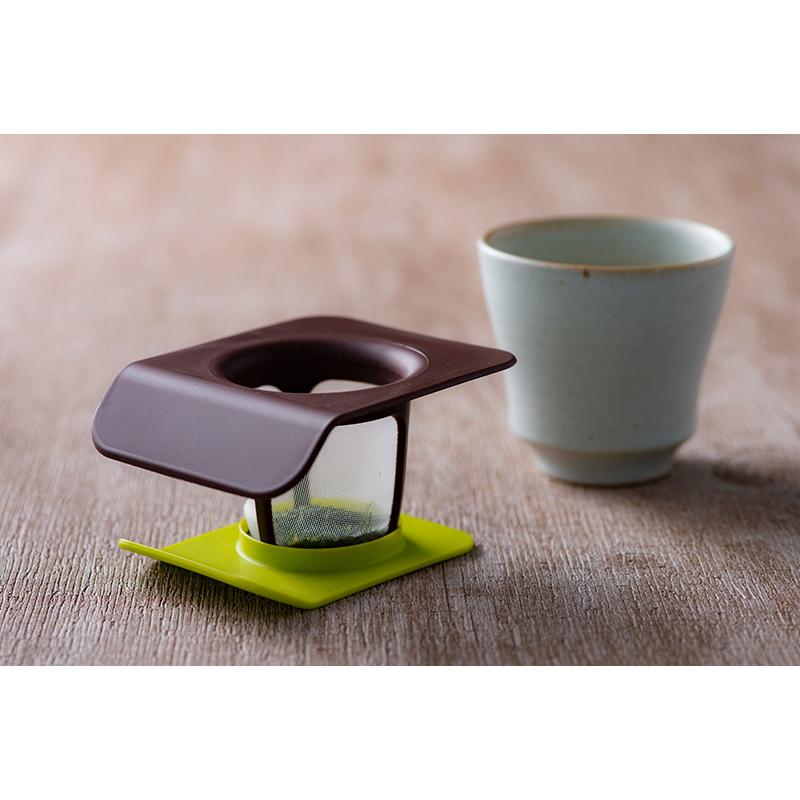 Wabi茶こし(せいじ)急須のいらない茶こし 単身、オフィスなどで最適 安心の日本製