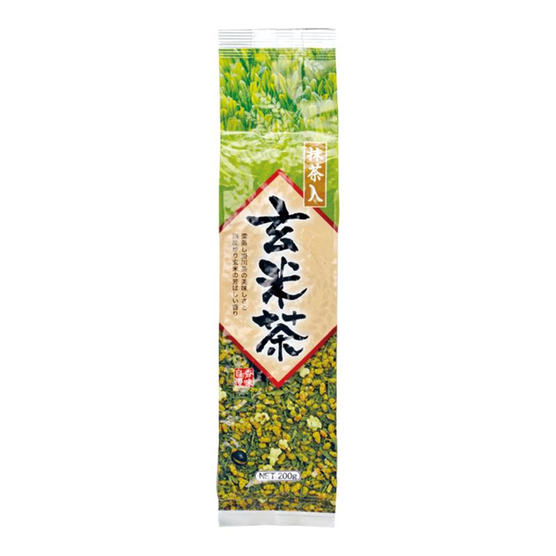 抹茶入り玄米茶 (リーフ/200g)