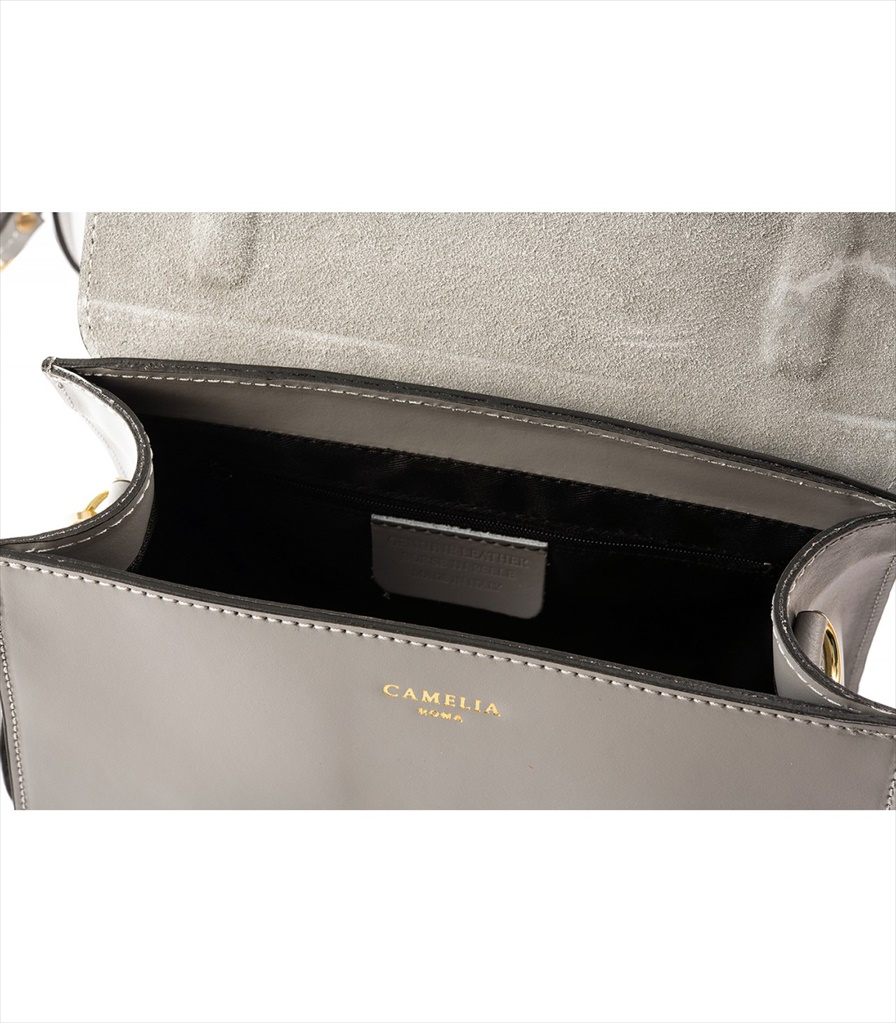 LEATHER HANDBAG BORSAMANO_0009_GR COLOR: GREY