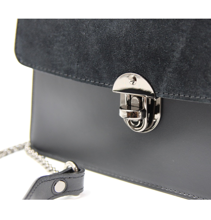 LEATHER AND SUEDE CROSSBODY BAG TRACOLLA_0037_NE COLOR: BLACK