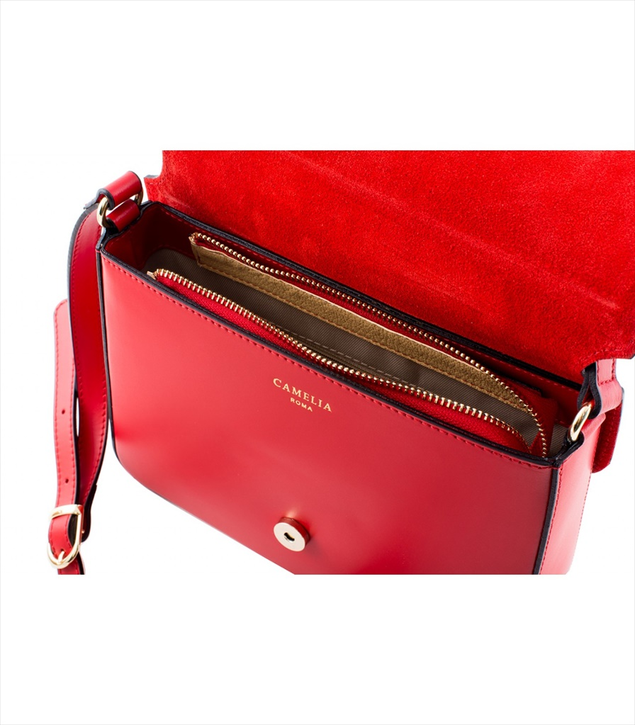 LEATHER AND SUEDE CROSSBODY BAG TRACOLLA_0033_RO COLOR: RED