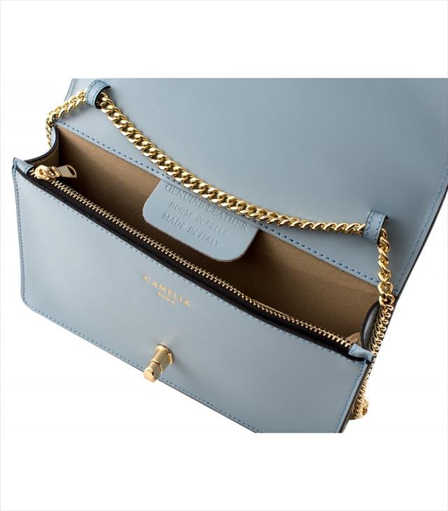 LEATHER MINI BAG TRACOLLA_0016_CL COLOR: LIGHT BLUE