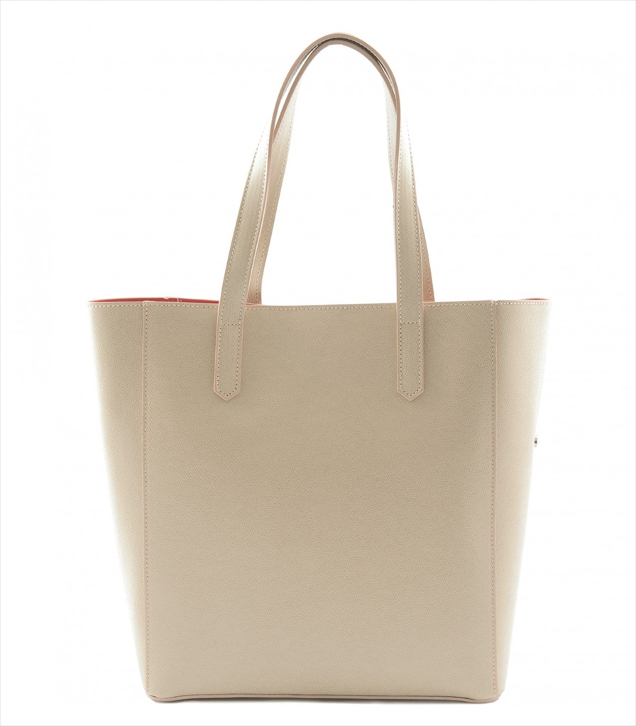 GRAINED LEATHER TOTE BAG SHOPPING_0012_TA COLOR: TAUPE