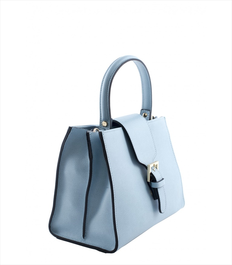LEATHER HANDBAG BORSAMANO_0029_CL COLOR: LIGHT BLUE
