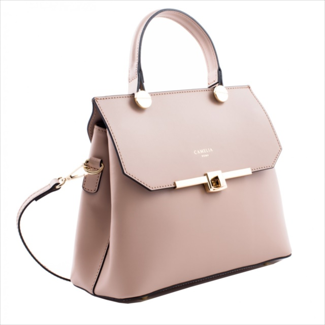 LEATHER HANDBAG BORSAMANO_0004_CA COLOR: CAMEO