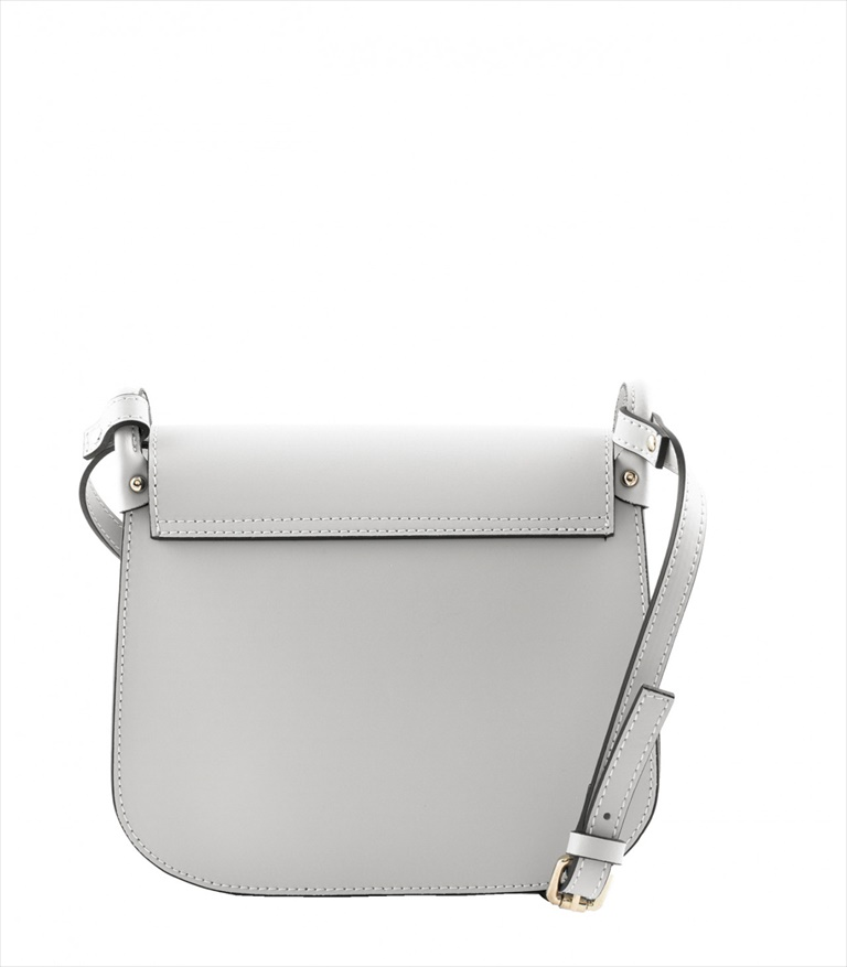 LEATHER CROSSBODY BAG TRACOLLA_0005_GC COLOR: LIGHT GREY