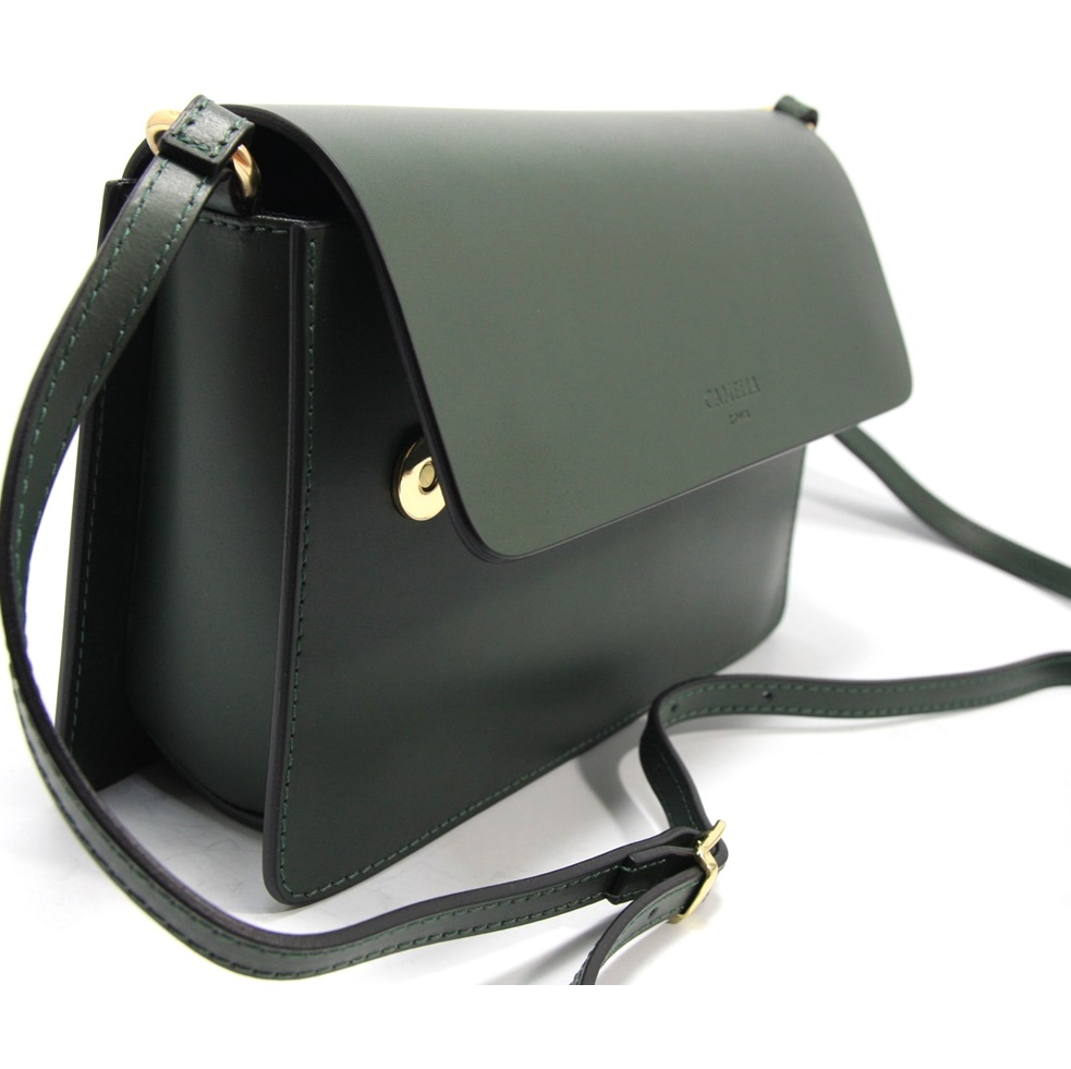 LEATHER MINI BAG TRACOLLA_0035_VE COLOR: GREEN