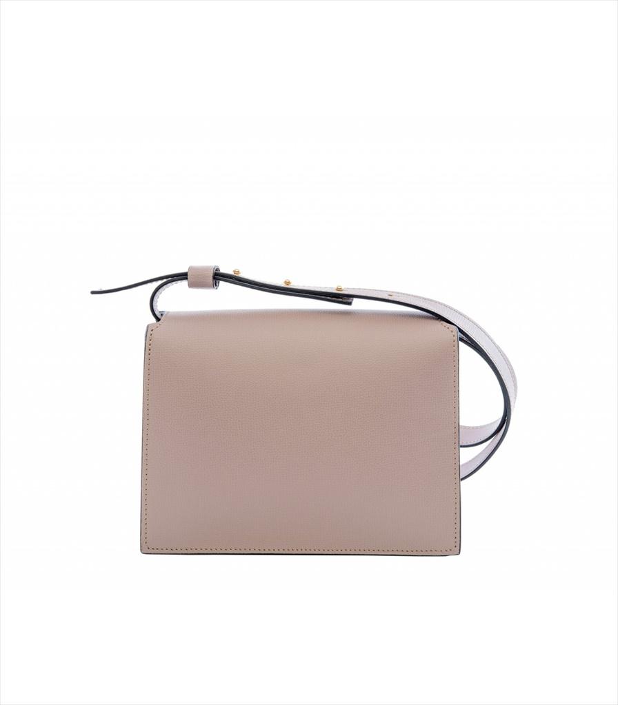 GRAINED LEATHER SHOULDER BAG TRACOLLA_0045_LI COLOR: LILAC