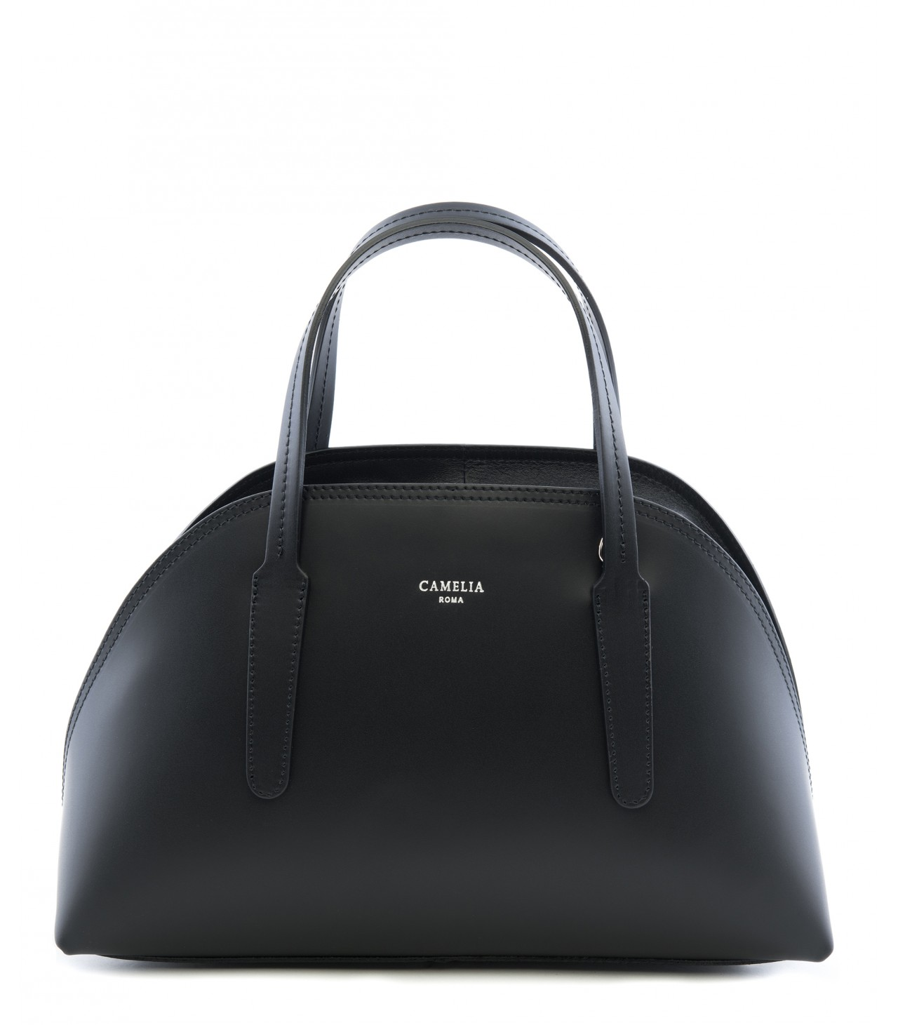 LEATHER HANDBAG BAULETTO_0007_NE COLOR: BLACK