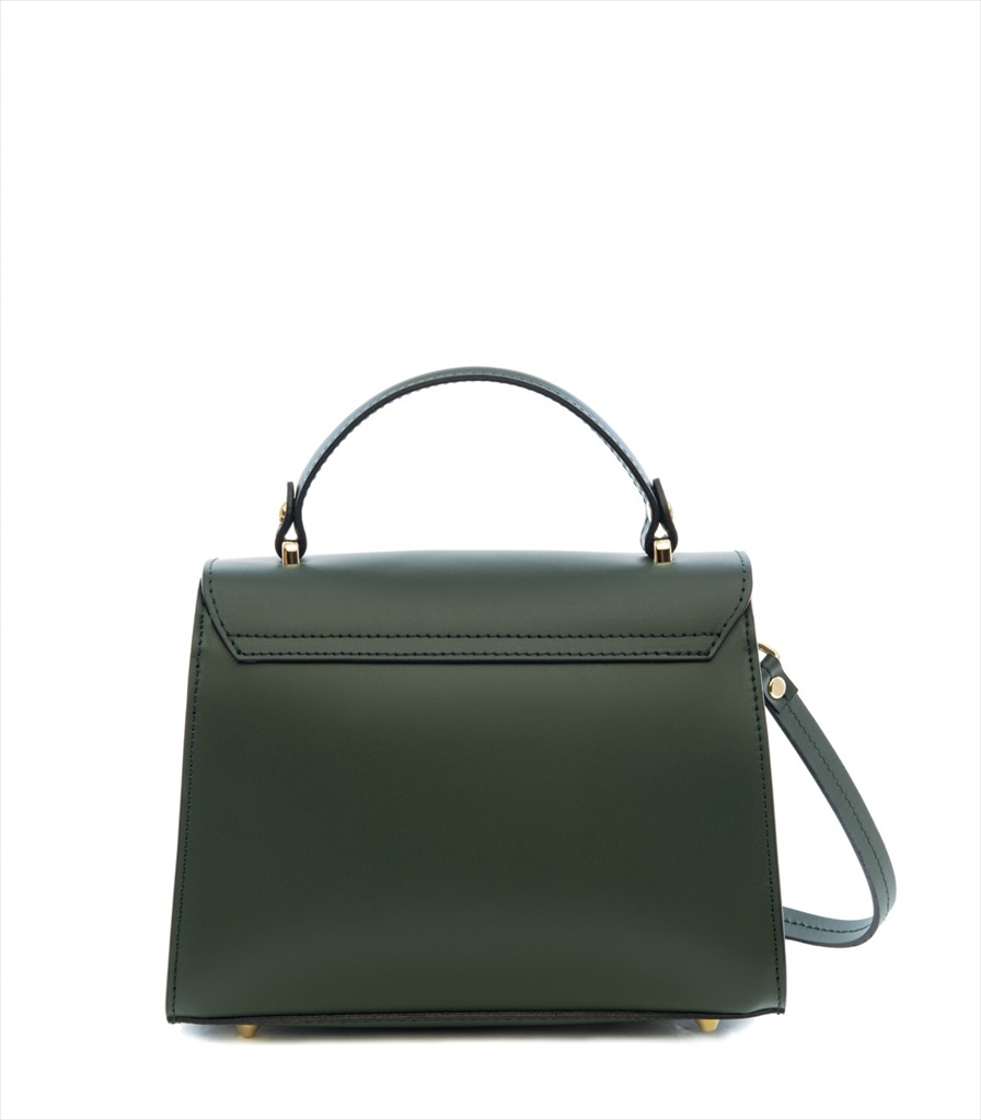 LEATHER HANDBAG BORSAMANO_0009_VS COLOR: DARK GREEN